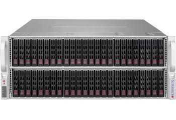 Серверные платформы Supermicro 19'' 4U/Tower